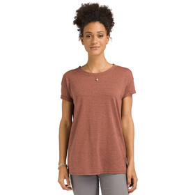 Prana Cozy Up T-shirt Damer, chai heather